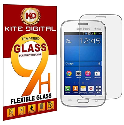 Kite Digital Samsung Galaxy Star pro GT 7262 Premium Tempered Glass Screen Protector Slim 9H Hardness 2.5D