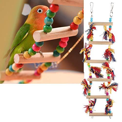 Vogels hangen speelgoed, kauwen spelen ladder staan voor papegaaien valkparkieten ara's houden van vogels vinken
