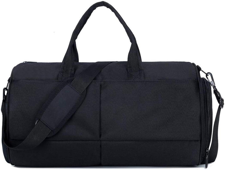 MUZI New Outdoor Sports Fitness Bag Bucket Travel Handbag Basketball Yoga Bag Waterproof Travel Bag