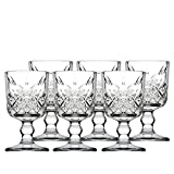 Pasabahce 469525 Timeless Pack of 6 Liqueur Goblets, Glass, Clear, 6 cl