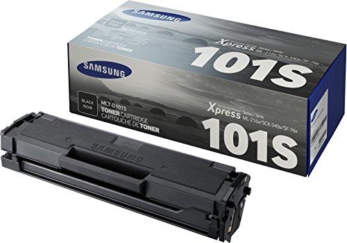 Samsung MLT-D101S SU696A Cartuccia Toner Standard Originale, 1.500 Pagine, Compatibile con Stampanti Samsung Laserjet Monocromatiche Serie ML-2160, Serie SF 760 e Serie SCX-3400, Nero