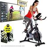 Sportstech Profi Indoor Cycle SX200 – Deutsche Qualitätsmarke -mit Video Events & Multiplayer...