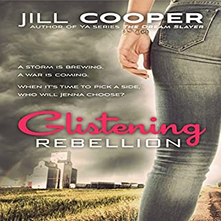 Glistening Rebellion audiobook cover art