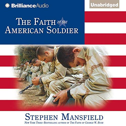 The Faith of the American Soldier audiobook cover art