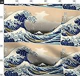 Japan, Bildende Kunst, Ozean, Holzblock, Natur, Japanisch,