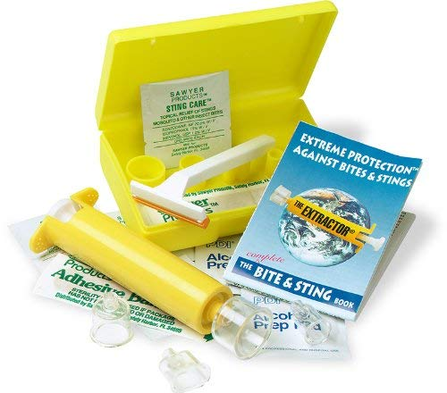 SAWYER Produkte B4 Extractor Pumpe Bite und Sting-Kit, gelb