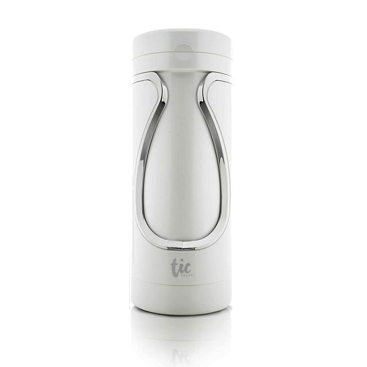 同情的辞任中絶Tic travel bottle Tic旅行収納ボトル スキンケア用品 シャワージェル収納 シャンプー収納 トラベルボトル (バス用-silver)