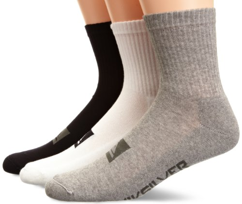 Quiksilver Herren Socken High Pack X3, assorted, XL, KRMSX141-AST