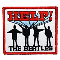 THE BEATLES ビートルズ Help! Patch ワッペン