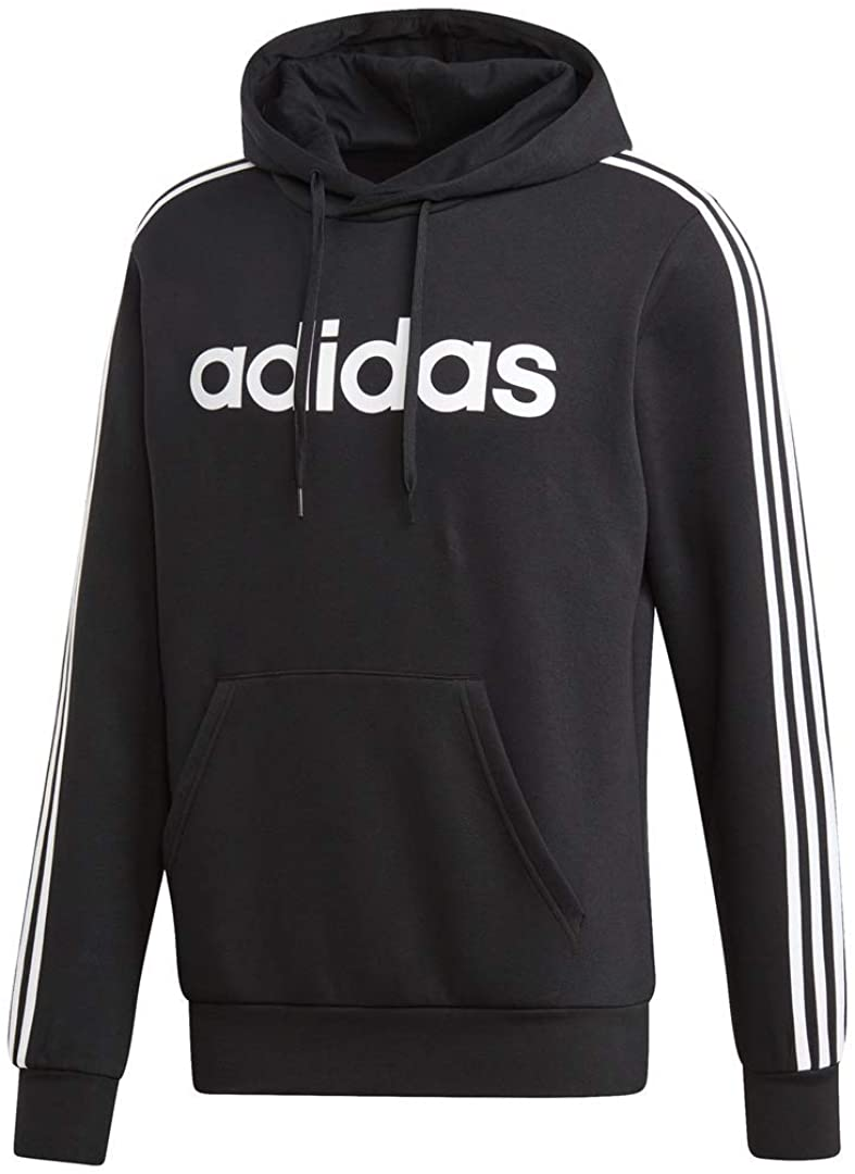 adidas Directly managed store Men's San Jose Mall Essentials 3-Stripes Pullover Hoodie