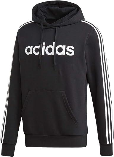 adidas Men's Essentials 3-Stripes Pullover Hoodie
