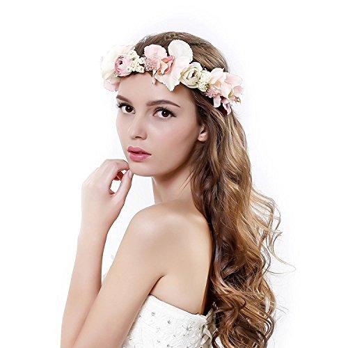 Ever Fairy Damen Stirnband Einheitsgröße Gr. Einheitsgröße, rose