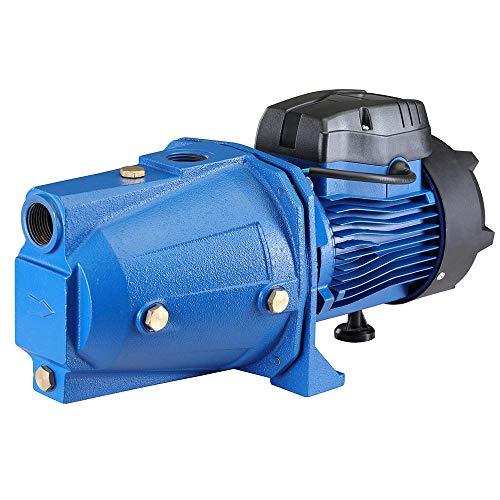 Bakaji Elettropompa Autodescante per Autoclave Periferica Potenza 1 HP (750W) Pompa Motore in Rame Girante in Acciaio...