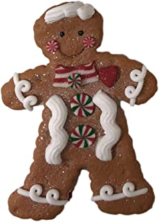Kurt Adler GINGERBREAD BOY/GIRL ORNAMENT 4A
