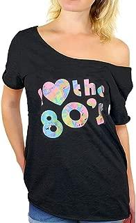 Camiseta de Manga Corta para Mujer, diseño Retro de los años 80