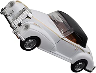 NUOBESTY Vintage Car Model Diecast Toy Car Metal Antique Car Collectible Vehicle Toys Figure Collections for Home Office B...