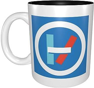 マグカップ Twenty One Pilots Logo 銉堛偉銈ㄣ兂銉嗐偅 銉兂 銉炪偘銈儍銉?銈炽兗銉掋兗銈儍銉?銈儍銉?銇娿仐銈冦倢 闆诲瓙銉兂銈?銈兗銉栥兂 銉溿兗銉炽儊銉c偆銉?銈偣銈裤優銈ゃ偤鍙兘 330cc