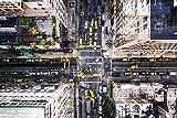 TRENDECOR - Cuadros Impresión Digital - Fotografía Street NY sobre Cristal Templado (120x80)