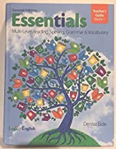 Essentials Teacher's Guide Volume 1