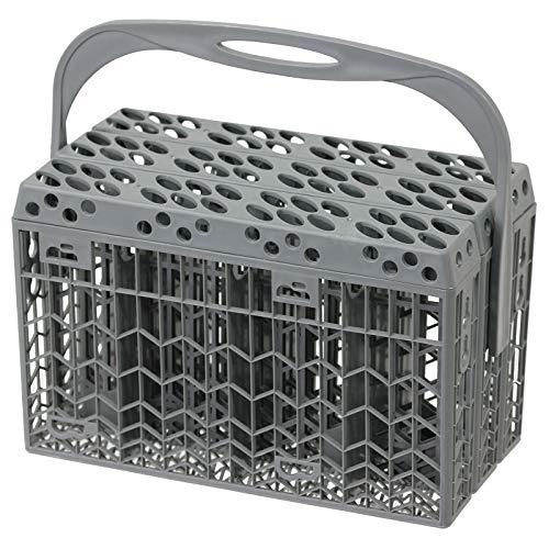 Spares2go Couverts Panier Plastique de couvercle et poignée pour Zerowatt lave-vaisselle