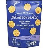 Passionerie - Snacks crujientes de queso al horno, sabor clásico, 50 g (paquete de 8)