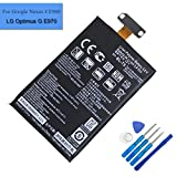 Li-Polymer New Replacement Battery BL-T5 Compatible with LG E970 LG E960 E971 E973 LS970 Nexus4 Mako Sprint LS970 EAC61898601