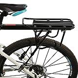 QXFJ Schnellverschluss-FahrradträGer Universeller Schnellverschluss-Mountainbike-GepäCkträGer...