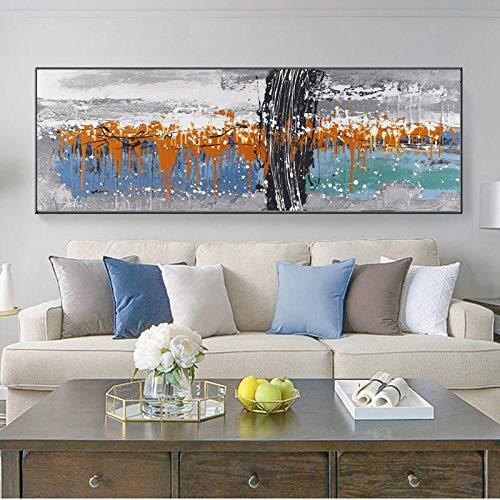 Pintura moderna Carteles impresiones color Arte pared