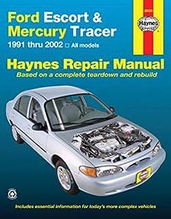 Haynes 36020 Repair Manual for Ford Escort Mercury Tracer 91-02 Haynes Repair Manual Shop Service Garage Book