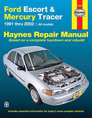 [WQZT_9871]  Amazon.com: Haynes 36020 Repair Manual for Ford Escort Mercury Tracer 91-02  Haynes Repair Manual Shop Service Garage Book: Automotive | 1991 Mercury Tracer Diagram Wiring Schematic |  | Amazon.com