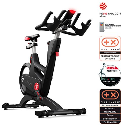 TOMAHAWK IC7 Indoor Bike mit Magnetbremse und Wattmessung - Product of the Year 2015/16 (ISPO & Plus X Award)