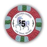 DA VINCI Pack of 50 Unicorn All Clay 8.5 Gram Poker...