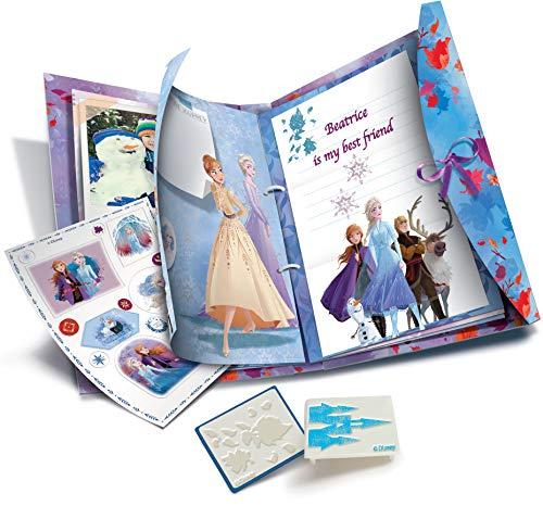 Clementoni- Frozen 2-Dream Diary Set di Diario, Multicolore, 18518