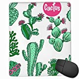 Mousepad Color Cactus Set 25x30 CM Gaming Mouse Mat Pad Smooth Surface for Computer and Desk