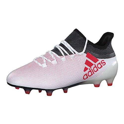 adidas X 17.1 Fg, Scarpe da Calcio Uomo, Bianco (Ftwwht/Reacor/Cblack Ftwwht/Reacor/Cblack), 42 EU