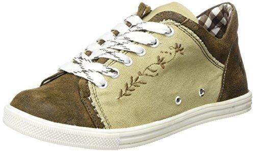 Spieth & Wensky Damen 460 D Janet Sneaker, Braun (Natur St 251 Braun 3444), 42 EU