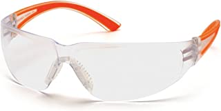 Pyramex SO3610S Cortez Safety Glasses Orange Temples with Clear Lens (12 Pair) by Pyramex