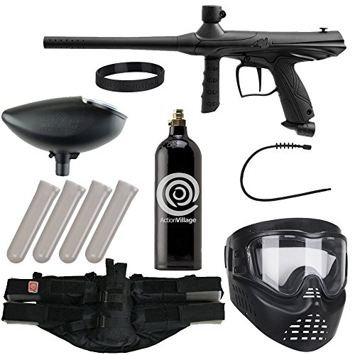 Action Village Tippmann Epic Paintball Gun Package Kit (Gryphon) (Black)