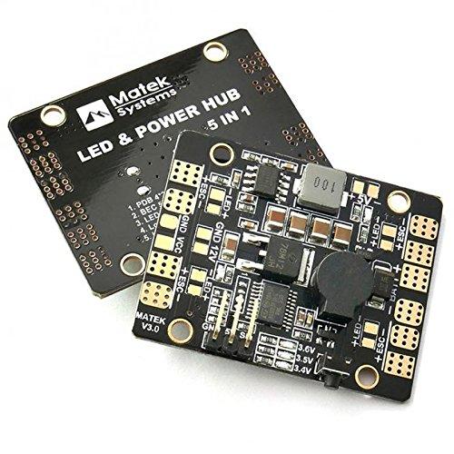 N-FACTORY-DE Matek LED & Power HUB V3 5in1 - Power Distribution Board - FPV Race