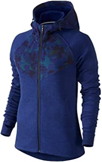 Women's All Over Print Tech Fleece Zip Up Sweater
