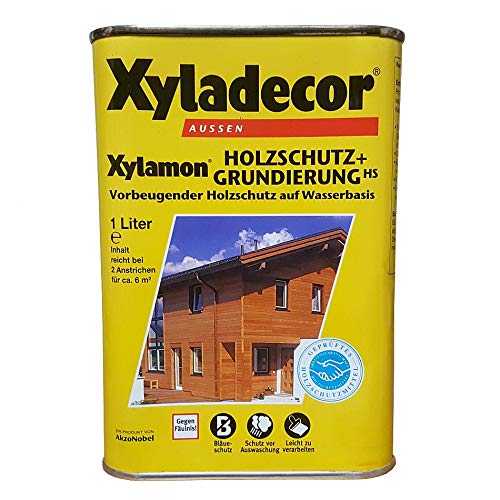Akzo Xylamon Holzschutz u. Grund. 1 Liter 5195283