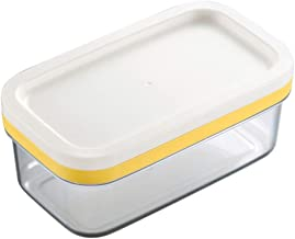 2 in 1 Butter Slicer Saver Keeper Case Butter Container Storage with Lid LB88-As show,