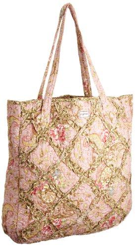 Ringarose Frills Bag Paisley Rose, Borsa tote donna