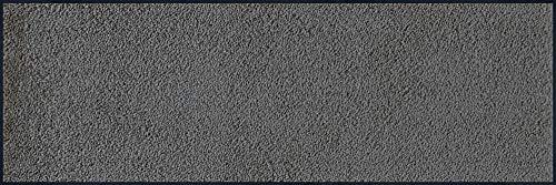 wash+dry 4684 Fußmatte Mount, Smokey Mount, 60x180 cm, innen, waschbar, grau