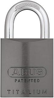 Abus Lock 84020 TITALIUM 83AL Interchangeable Core Padlock