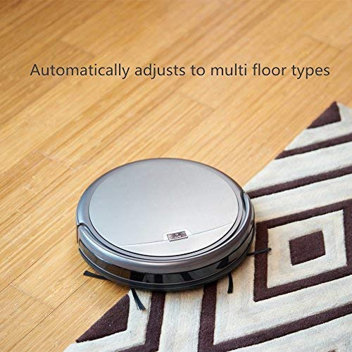 ILIFE A4s Robot Vacuum Cleaner with Strong Suction, over 100mins Run time, Self-charging, Slim, Quiet, Ideal for Hard Floors to Medium Carpets