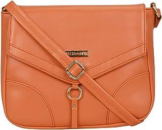 ESBEDA Orange Color Drymill Comfort Sling bag For Women