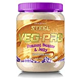 Steel Supplements Veg-PRO Vegetable Pea Protein Isolate Powder Supplement Natural Organic Vegan 1.5...