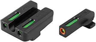TFX Pro Tritium/Fiber-Optic Day/Night Sights, Green/Orange Ring for Springfield XD/XDM/XDS
