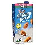 Blue Diamond Dairy, Almond Milk Original Unsweetened,...